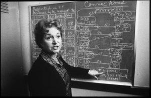 Dr. Selma Dritz, ca. 1982. MSS 2001-04.