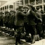 Final Inspection of the Harvard Unit at Fort Totten, N.Y., May 11, 1917 [0003947]
