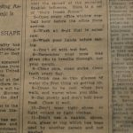 Scrapbook of newspaper clippings (September 14, 1918 to March 1, 1919) concerning the influenza epidemic in Philadelphia, 1918-1919. Philadelphia, PA, 1919.